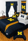 Michigan Wolverines Comforter & Pillowcase Twin Full Queen King Size
