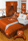 Texas Longhorns Comforter and Pillowcase Twin Full Queen King Size