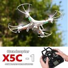 ufo quadcopter with camera - X5C-1 2.4Ghz 6-Axis Gyro RC Quadcopter Drone UAV RTF UFO with HD Camera Drone
