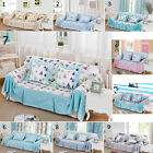 Washable 100% Cotton Sofa Couch Cover Sofa Towel Sofa Protector For 1 2 3 Seater