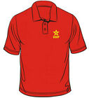 Russian Hammer & Sickle CCCP Badge New Men Short Sleeve Polo Top