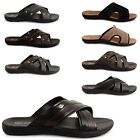 NEW MENS GENTS CASUAL BEACH OUTDOOR FLIP FLOPS SUMMER SHOWER MULES SHOE SANDALS