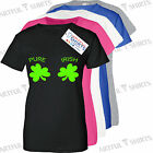 Pure Irish Shamrock funny novelty T SHIRTS t shirts Ireland Gifts S M L XL 2XL