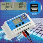 HOT 10A 20A PWM LCD Solar Panel Regulator Charge Controller 12V 24V With USB WT