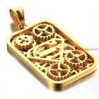 Personality Hot 316L Stainless Steel Silver/Gold Necklace Mens Gear Tag Penda