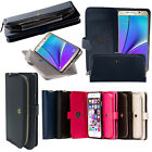 Monica Coin Card Pocket Zipper Bag Wallet Case For Samsung Galaxy NOTE 5 + gith
