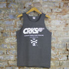 Crooks & Castles Corrupt Tank Top In Charcoal Sizes M L XL