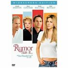 Rumor Has It DVD Jennifer Aniston,  Kevin Costner #BOBO   BUY ONE GET ONE FREE