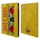 OFFICIAL GUNS N' ROSES VINTAGE LEATHER BOOK WALLET CASE COVER FOR APPLE iPAD