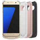 Portable External Backup Battery Charger Case Cover For Samsung Galaxy S7 Edge