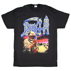 Death - Leprosy with back print - black t-shirt - OFFICIAL