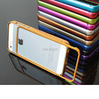 For Apple Iphone 5s Luxury Real Aluminum Metal Bumper Frame Case Accessory