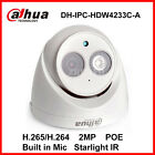 Dahua 2MP Starlight IP Camera IPC-HDW4233C-A H.265 Built-in Mic  IR 50m Camera