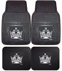 Los Angeles Kings Heavy Duty Floor Mats 2 & 4 pc Sets for Cars Trucks & SUV's $57.95 USD on eBay