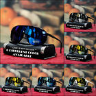 NEW MENS SHIELD SUNGLASSES WRAP AROUND SPORTY LARGE FULL MIRROR
