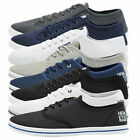 Henleys Kenyon Mens Canvas Shoes New Designer Lace Up Plimsoll Casual Trainers