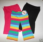 2 Pairs Circo Girls Pink ,Black, Rainbow Size -12M ,18,4T,3T, 5T Leggings Pants