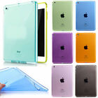 ipad mini retina black - Ultra Thin Clear Soft TPU Silicone Case Cover For iPad 2/3/4 Air Mini 9.7 2017