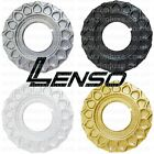 LENSO BSX CENTRE PLATE DISC WAFFLE HUB CAP SPARE PART SILVER GOLD BLACK WHITE