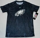 PHILADELPHIA EAGLES BOYS YOUTH DRI TEK SHORT SLEEVE T SHIRT S M L XL NWT BLACK $17.99 USD on eBay