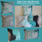 """Water Color Drop Home Cotton CUSHION COVER Throw PILLOW CASE 18"""" Gift In/Outdoor"""