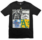 MLB Youth Oakland Athletics A's Star Wars Main Character T-Shirt, Black