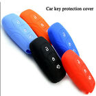 Silicone car key cover for Ford Mondeo 3 Buttons Smart Car key