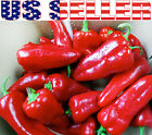 30+ Italian Super Shepherd Sweet Pepper Seeds Heirloom NON-GMO Early Sweet USA