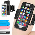 New Premium Hybrid Soft Rubber Sport Armband Phone Case Cover For iPhone 5 5S SE