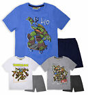 Boys Short Sleeved Teenage Mutant Ninja Turtles PJ Set New Kids TMNT Pyjamas