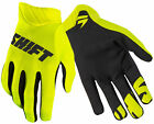 Shift Racing Flo Yellow/Black Black Label Air Mainline Dirt Bike Gloves MX ATV