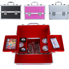 Beauty Vanity Case Cosmetic Make Up Box Nail Jewelry Saloon Storage Hot