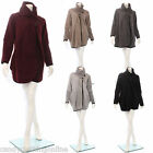 New Lagenlook Quirky Women Cocoon Jacket Coat Top Dress Cardigan Warm Size 8 18