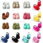 Summer Baby Girls Kids  Sandals Tassel Anti-Slip Crib Shoes Soft Sole Prewalkers