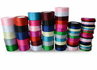 Satin Ribbon 25yds/22m Double Sided for Crafts, Gift Wrap, Decoration, Sewing