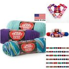 Red Heart Super Saver Yarn E300 - 4 - Medium/Worsted No Dye- Many Prints Tones