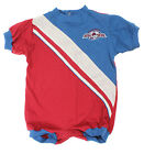 NHL Infant Colorado Avalanche Embroidered Romper, Burgundy / Blue on eBay