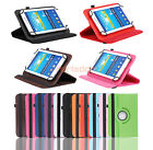 Universal Rotating Case Cover For Verizon Ellipsis 7 Inch RCA/Dragon Touch Y88