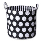 Minene Black and White Storage Baskets - Large and Small Sizes
