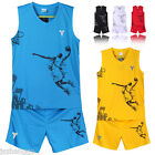Summer Outdoor Sports Men's Breathable Basketball Clothes Uniform Team Sport