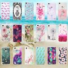 For Huawei Soft Rubber Silicon Luxury Fashion 3D Pattern Skin Back Case Cover