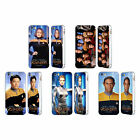 STAR TREK ICONIC CHARACTERS VOY SILVER SLIDER CASE FOR APPLE iPHONE PHONES