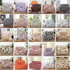 Colorful Stretch Fabric Pet Protector Sofa Couch Silp Covers For 1 2 3 4 Seater