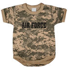 US Air Force usaf baby tee shirt infant one piece body suit acu digital camo