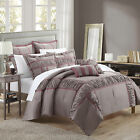 Tuscan Plum & Purple 7 Piece Comforter Bed In A Bag Set