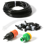 10m Garden Water Misting Cooling System 10/20pcs Head Sprinkler Micro Irrigation