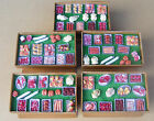 1:12 Fully Stocked Wooden Butchers Counter Dolls House Miniature Meat Accessory