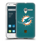 OFFICIAL NFL MIAMI DOLPHINS LOGO SOFT GEL CASE FOR ALCATEL PHONES