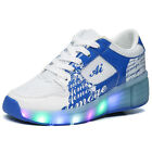 Bambini Heelys Junior LED Light Heelys Roller Skate Shoes Scarpe Casual