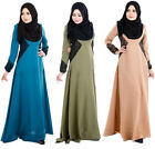 Women Maxi Long Dress Kaftan Jilbab Islamic Muslim lace Abaya Women Cocktail